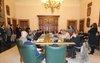 Un momento della conferenza stampa di fine anno di Sindaco e Giunta con i giornalisti (21dic12)