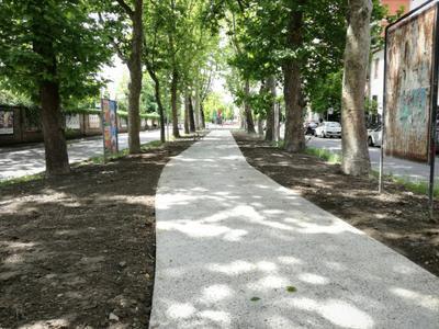 Ufficio Verde Pubblico Comune Di Bologna : In corso la riasfaltatura di via terranuova. terminati i percorsi