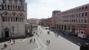 Piazza Trento Trieste a Ferrara