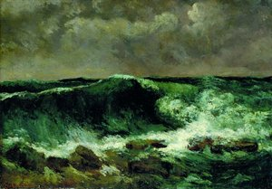 "Gustave Courbet, ""L'onda"""