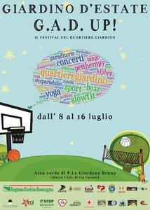 Locandina festival Giardino d'Estate 2017