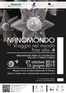 "Locandina mostra ""Nanomondo"""