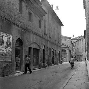 """Foto della mostra """"Ferrara vista dal laboratorio fotografico ditta Fortini"""""""